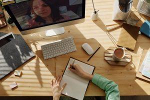 Auf was muss man bei Videokonferenzen achten?